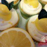 Zitronencupcakes mit Lemon Curd–Mascarpone Creme