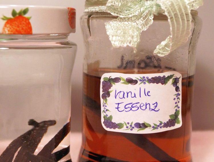 Vanille-Essenz/-Extrakt