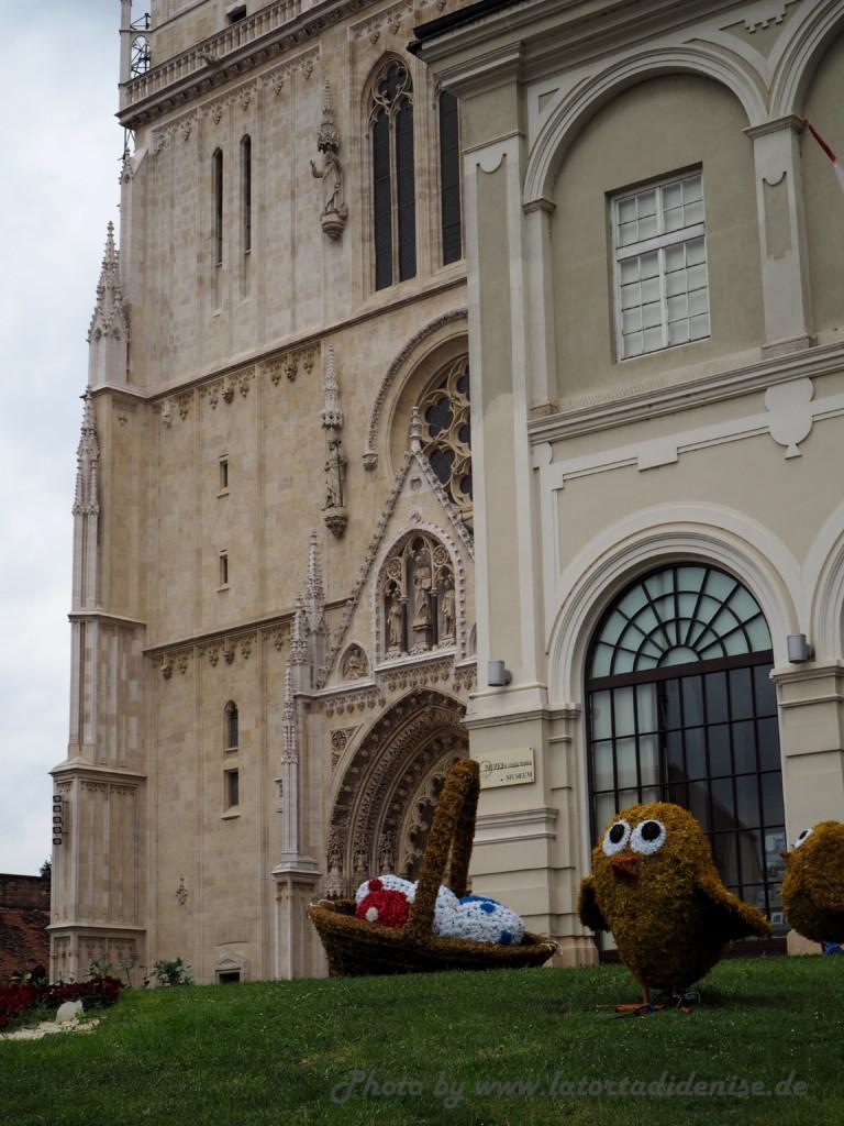 Zagreb an einem Tag