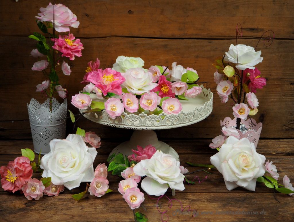 Blütenpaste oder Waferpaper