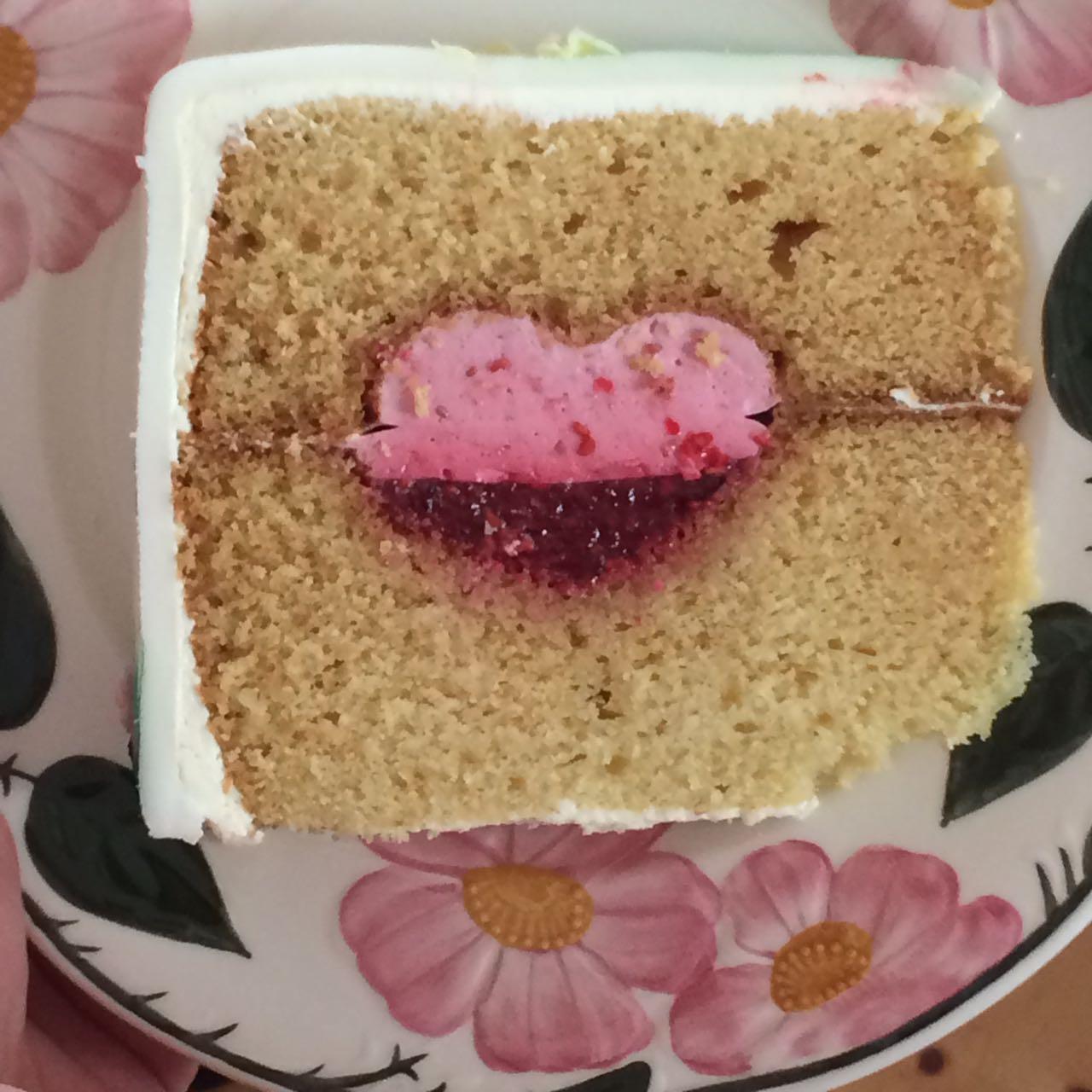 Wenn es dir schwerfällt, eine Torte wegzugeben