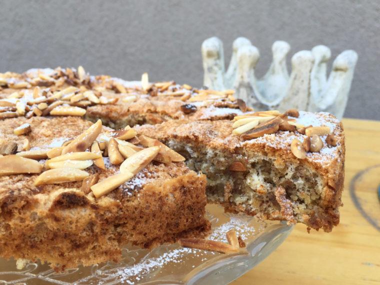 Mallorquinischer Mandelkuchen – Erinnerung an warme Sommertage!