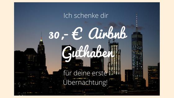 Du planst deine erste Buchung mit Airbnb?