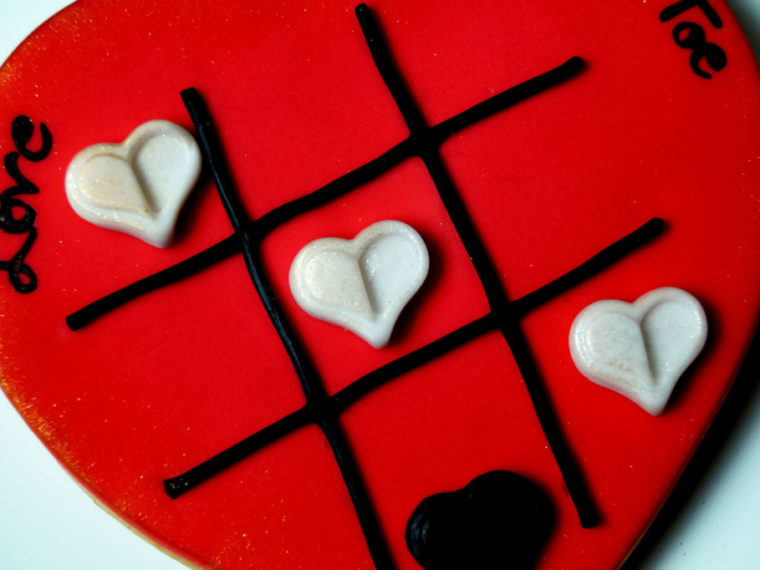 Kekse zum Valentinstag