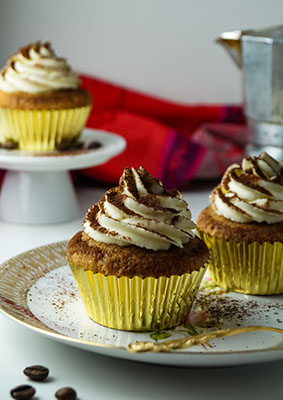 Tiramisu - Cupcakes