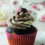 Vegan backen; Donauwellen-Cupcakes